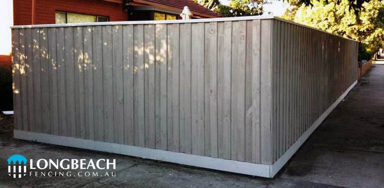 Paling Fence Designs Fence design pictures longbeach fencing paling fence painted workwithnaturefo