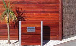 Brush Panels with Merbau Seaford