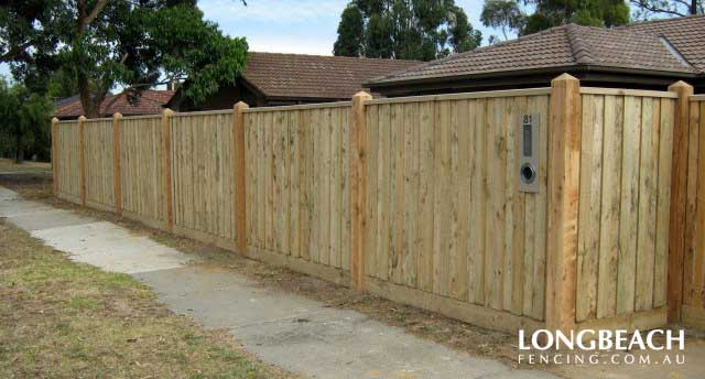 Paling Fence Designs Fence design pictures longbeach fencing paling fence with capping workwithnaturefo