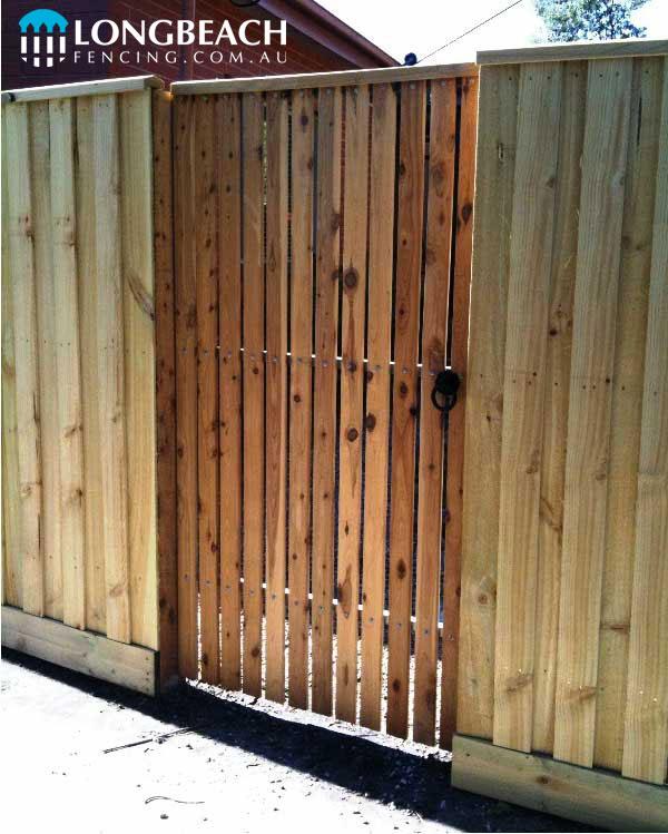 Timber Gates & Automatic Sliding Driveway Gates ⋆ Longbeach Fencing