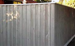 Paling Fence Painted Bonbeach