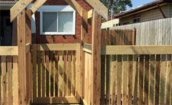Single Timber Swing Gate Edithvale