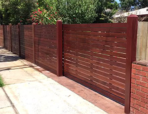 Merbau Automatic Sliding Gate Chelsea Heights