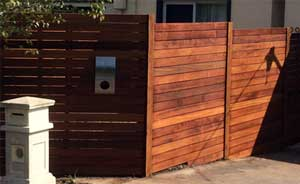 90mm Merbau Fencing Mount Eliza