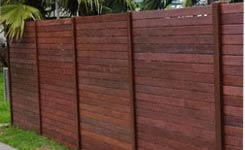 Merbau with Sliding Gate Chelsea