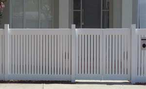 Rebated Picket Fence Edithvale